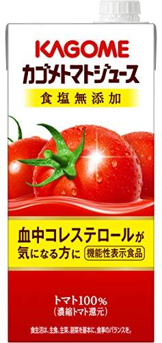 トマトジュース 食塩無添加 1000ml×6本