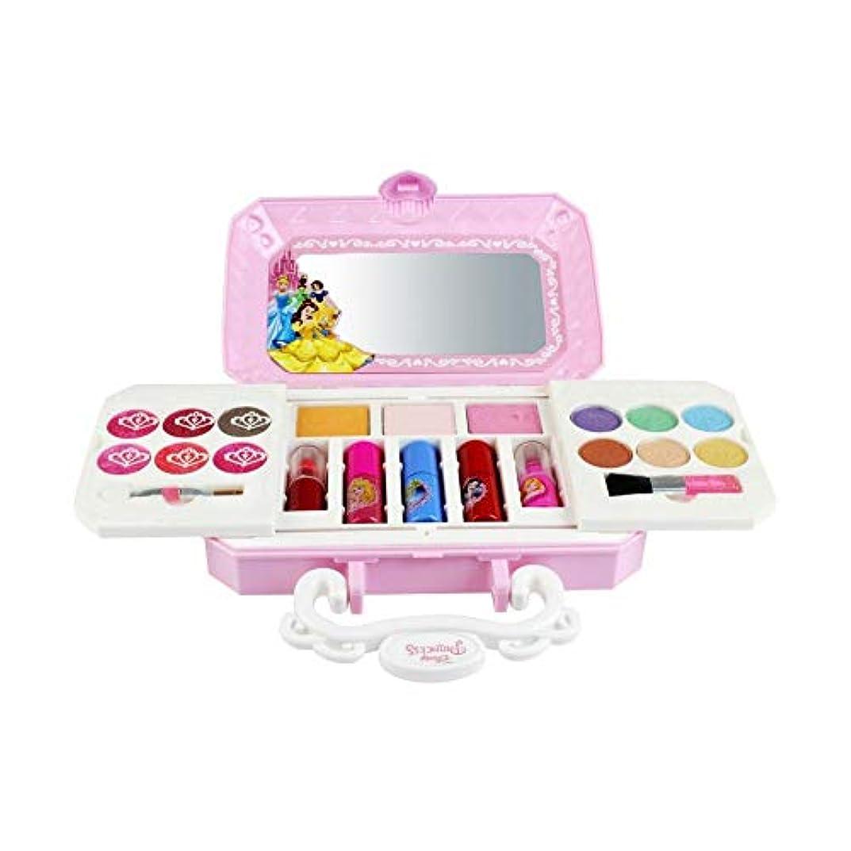 航空会社医薬区画TeFuAnAn キッズ用 メイクアップセット化粧品おもちゃ無毒無害 化粧箱付き 携帯便利 可愛い ディズニー コスメ玩具 コスメセット女の子 おもちゃ 人気お誕生日プレゼント 贈り物