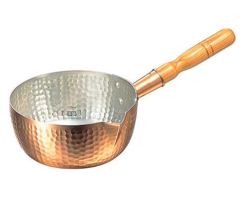 銅 片口・打出 雪平鍋 18cm