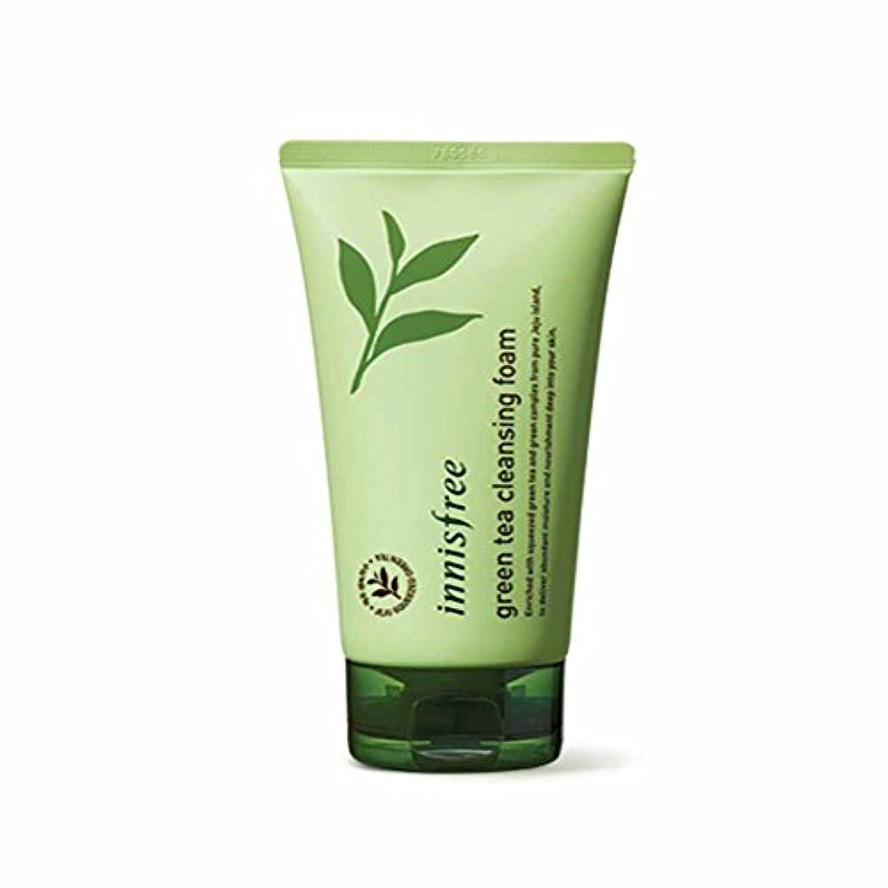 イニスフリーグリーンティークレンジングフォーム150ml Innisfree Green Tea Cleansing Foam 150ml [海外直送品][並行輸入品]