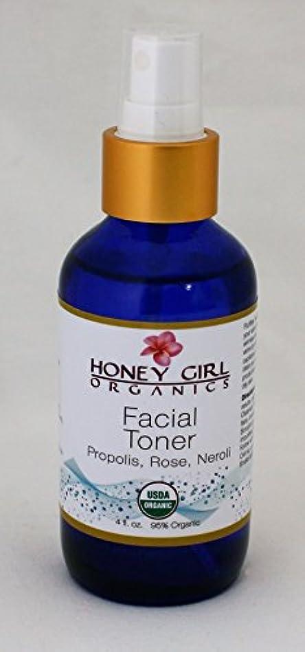 昆虫アトミック数Honey girl Organics フェイシャルトナー 4oz(120ml)