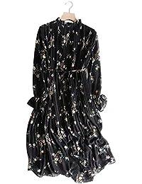 7b4fd30365bfd Amazon.co.jp  ロング丈 - ワンピース・チュニック   ワンピース・ドレス ...