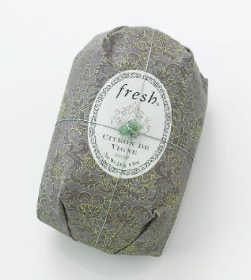 パイル画家早いFresh CITRON DE VIGNE SOAP (フレッシュ シトロンデヴァイン ソープ) 8.8 oz (250g) Soap (石鹸) by Fresh
