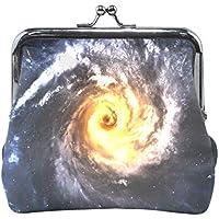 AOMOKI 財布 小銭入れ ガマ口 コインケース レディース メンズ レザー 丸形 おしゃれ プレゼント ギフト デザイン オリジナル 小物ケース 惑星 星空 星柄 宇宙