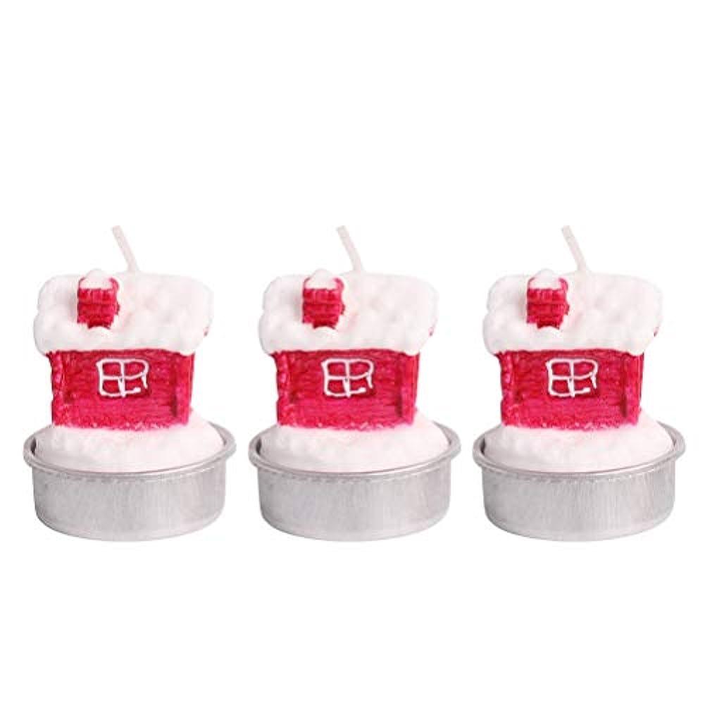 ミリメートルスキャンダル補充BESTOYARD ホルダー付きクリスマスキャンドルクリスマスハウステーブルデコレーション装飾品