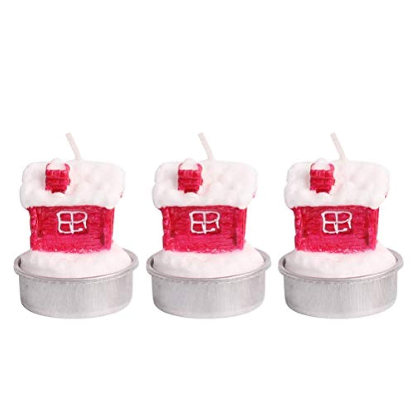 から証言する絶壁BESTOYARD ホルダー付きクリスマスキャンドルクリスマスハウステーブルデコレーション装飾品