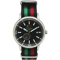 [アンペルマン]AMPELMANN 日本製 腕時計 ユニセックス オートマ ラウンドフェイス ブラック AMT-4975-05