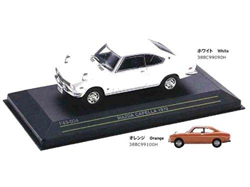 マツダコレクション モデルカー 1/43 カペラ 1970 オレンジ 38BC99100H