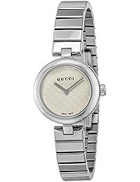 [グッチ]GUCCI 腕時計 ディアマンティッシマ ホワイト文字盤 YA141502 レディース 【並行輸入品】