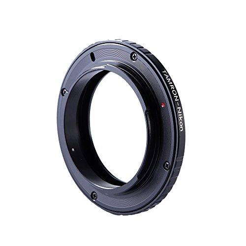 K&F Concept® マウントアダプター TAMRON-AI TAMRONマウントレンズ- Nikon AIマウントカメラ装着用レンズアダプター マウント変換アダプター Nikon D7100 D7000 D5200 D5100 D3100 D300 D300S D200 D100 D50 D60 D70 D80 D90 D40 D40x N70s D80 D800 D800e D4 D3 D2 D1など対応 高精度