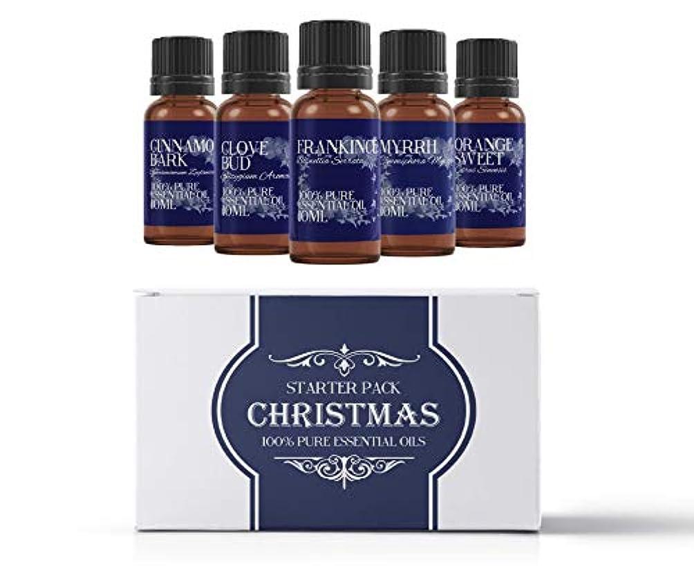 ハードウェア変成器ネコMystic Moments | Essential Oil Starter Pack - Christmas Oils - 5 x 10ml - 100% Pure