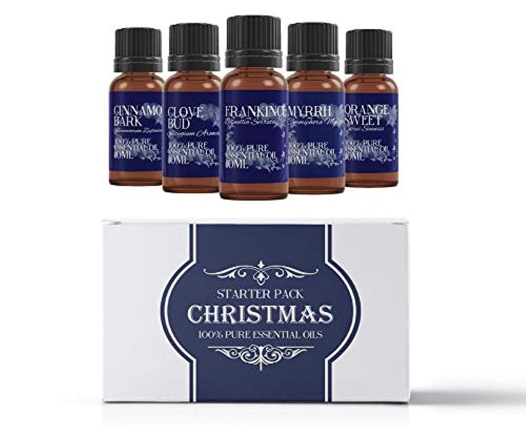 花輪カーペット買うMystic Moments | Essential Oil Starter Pack - Christmas Oils - 5 x 10ml - 100% Pure