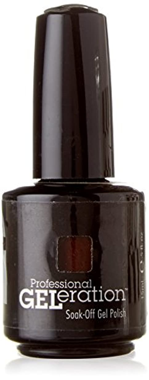 JESSICA ジェレレーションカラー GELERATION COLOURS 739 ブラウンシュガー 15ml UV/LED対応 ソークオフジェル
