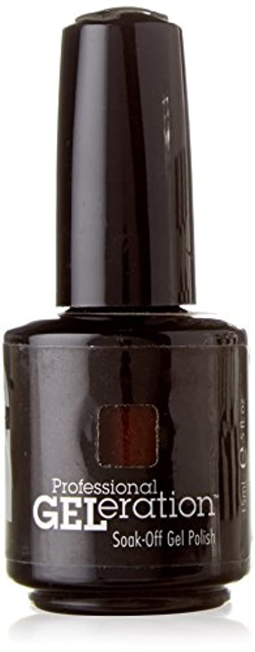 洗練された魅惑的な不注意JESSICA ジェレレーションカラー GELERATION COLOURS 739 ブラウンシュガー 15ml UV/LED対応 ソークオフジェル
