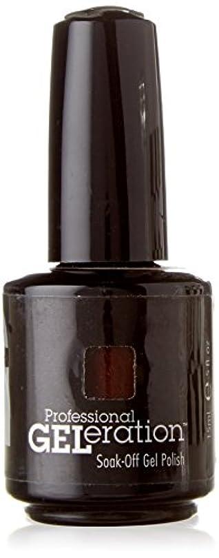 剃るペンフレンドギャンブルJESSICA ジェレレーションカラー GELERATION COLOURS 739 ブラウンシュガー 15ml UV/LED対応 ソークオフジェル