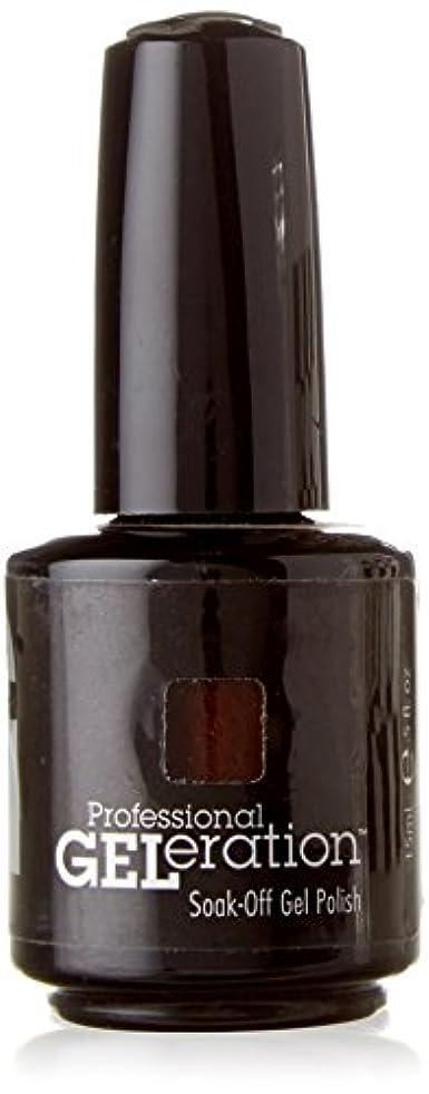 リーン正しい十一JESSICA ジェレレーションカラー GELERATION COLOURS 739 ブラウンシュガー 15ml UV/LED対応 ソークオフジェル