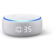 Echo Dot (3rd Gen) - Smart speaker with clock + Alexa - Sandstone Fabric