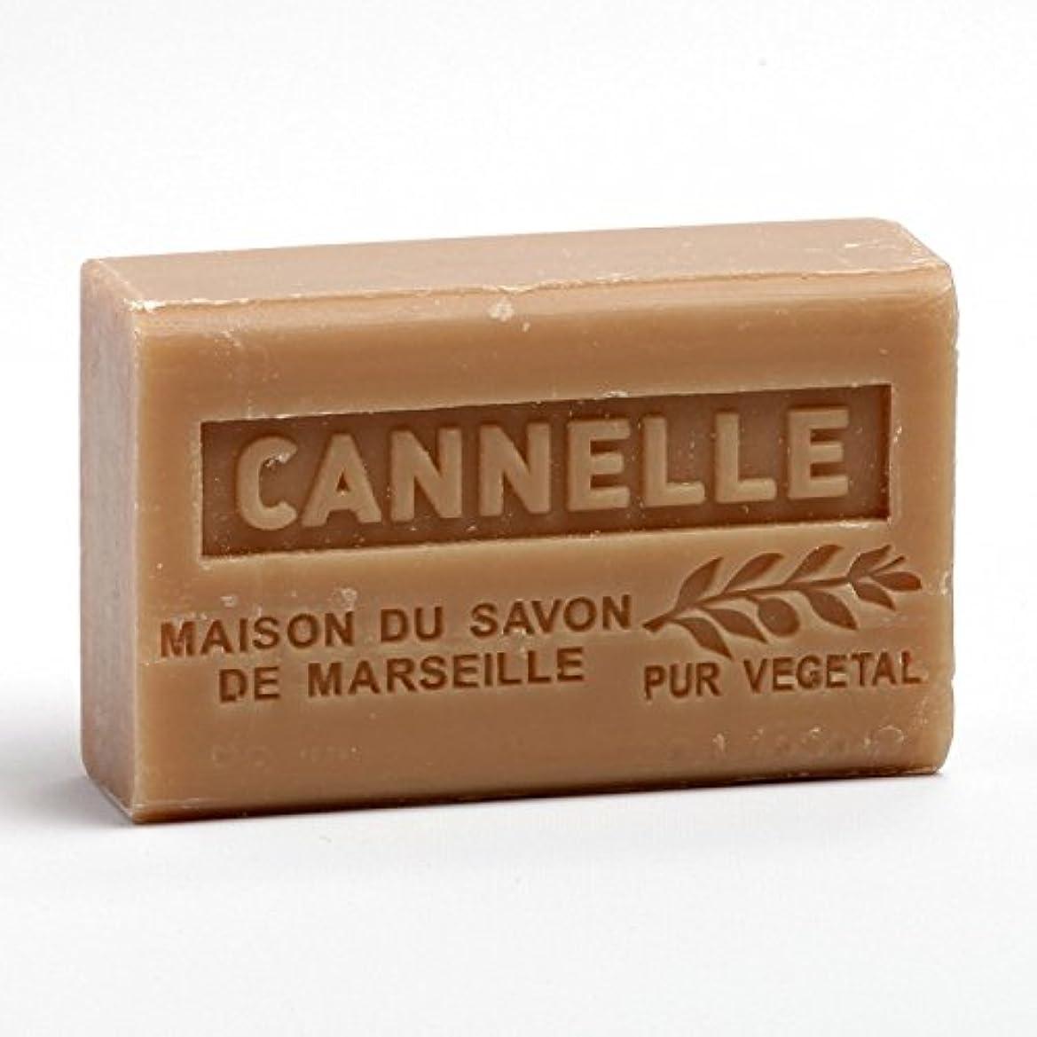 移行ゆり正当化するSavon de Marseille Soap Chinnamon Shea Butter 125g