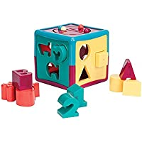 Battat Shape Sorter Cube Baby Toy [並行輸入品]