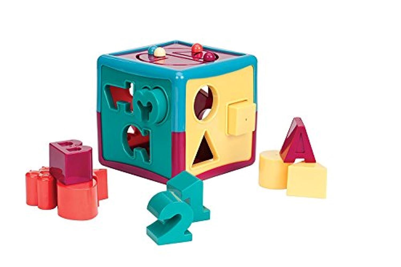 Battat Shape Sorter Cube Baby Toy [並行輸入品]