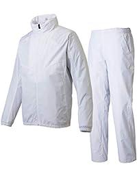 デサント(DESCENTE) COSMIC THERMO ジャケット&ロングパンツ 上下セット(ホワイト/ホワイト) DMMMJF33A-WH-DMMMJG33-WH