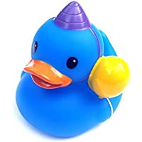 Rubber Ducky~ Yellow & Blue Birthday by Infantino [並行輸入品]