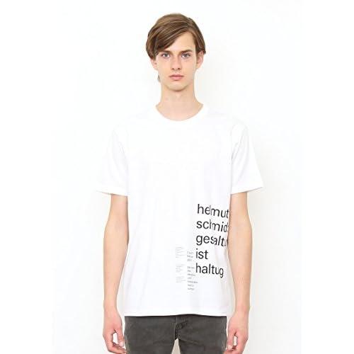 (グラニフ)graniph ベーシックTシャツ / ヘルムートシュミットvol003 ( ヘルムートシュミット ) ( ホワイト ) L