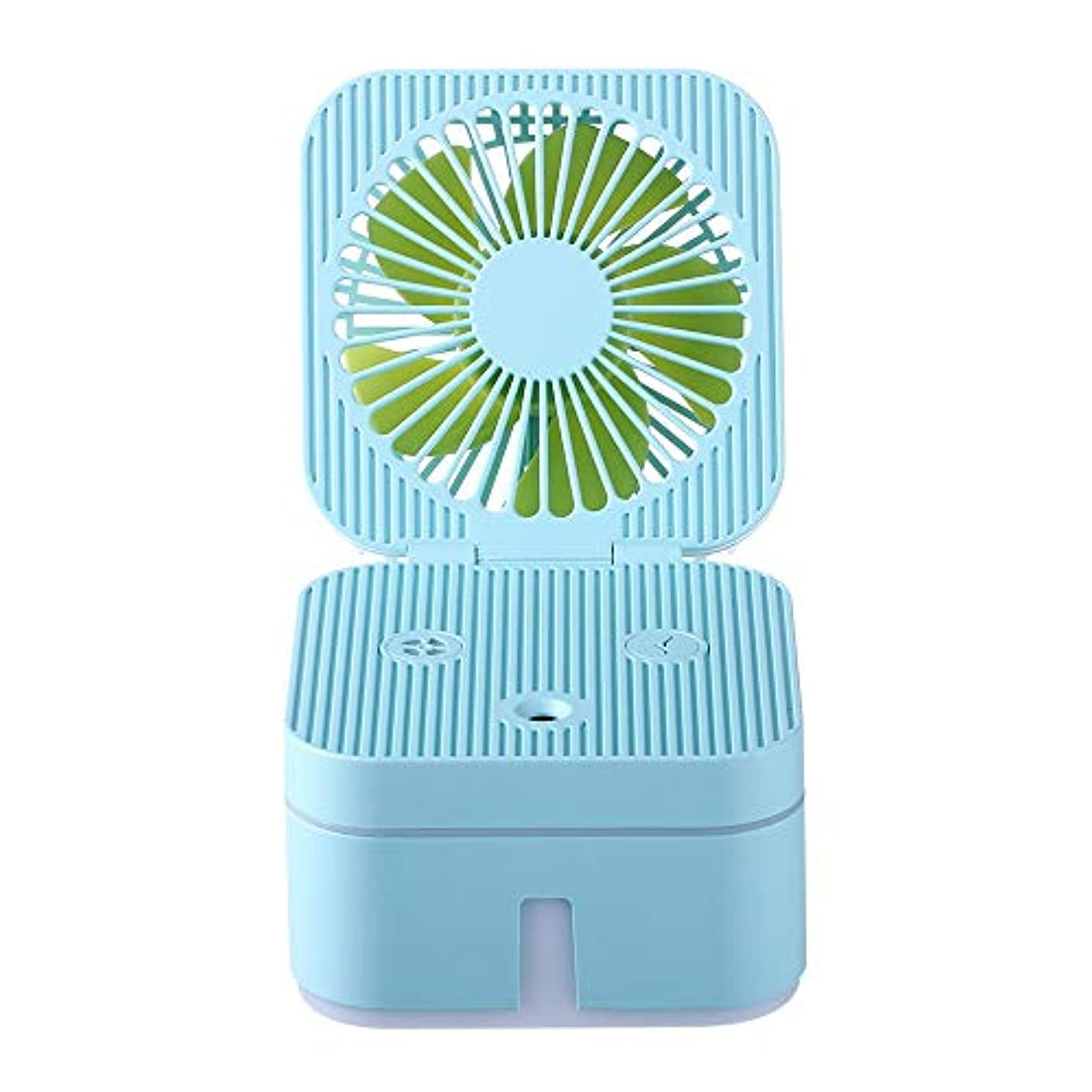 刺激する仕事発動機ZXF 容量保湿美容機器ABS素材USB充電加湿器ウォータースプレーメーターブルー 滑らかである