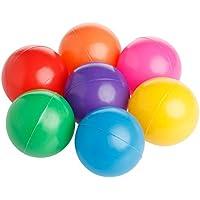 simdoc 1 pc 7 cm Swim楽しいカラフルなソフトプラスチック海洋ボール、安全ベビーキッドBall Pit Toy