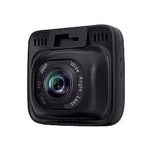 AUKEY ドライブレコーダー ドラレコ 1080Pカメラ 2インチLCD画面 170°広角 Gセンサー搭載 タイムラプス録画/常時録画/緊急録画/動体検知対応 DR-01