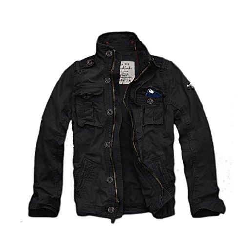 (カリホリ) Cali Holi ミリタリージャケット D/ブラック Lサイズ シャツジャケット トラックジャケット メンズ 並行輸入品