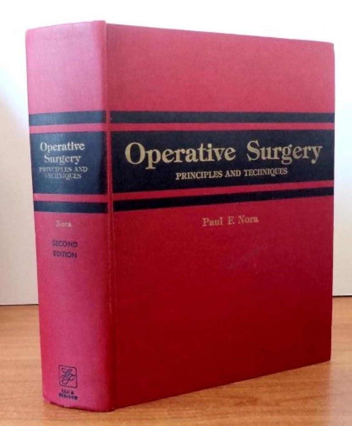 感嘆勉強する彫るOperative Surgery: Principles and Techniques