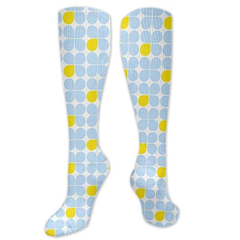 消去デクリメントキルト靴下,ストッキング,野生のジョーカー,実際,秋の本質,冬必須,サマーウェア&RBXAA Three-Petal Blue One Yellow Socks Women's Winter Cotton Long Tube...