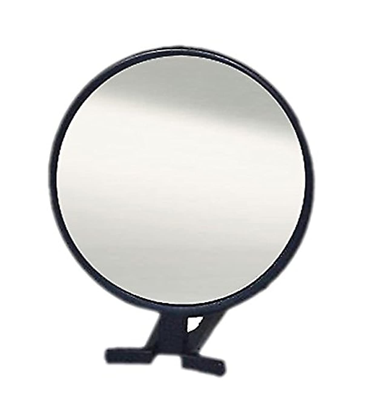 豆乳製品団結鏡 ハンドミラー 折立 No.455 ブラック