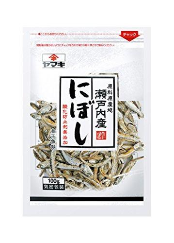 ヤマキ 瀬戸内産無添加にぼし 袋100g