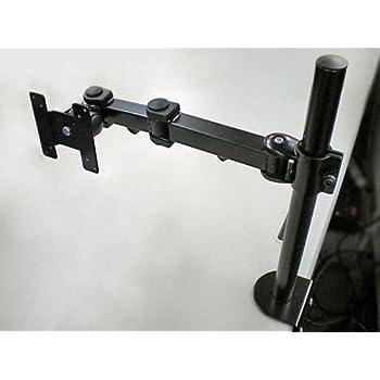 上海問屋 シングルモニターアーム(2関節モデル) DN-ARM192