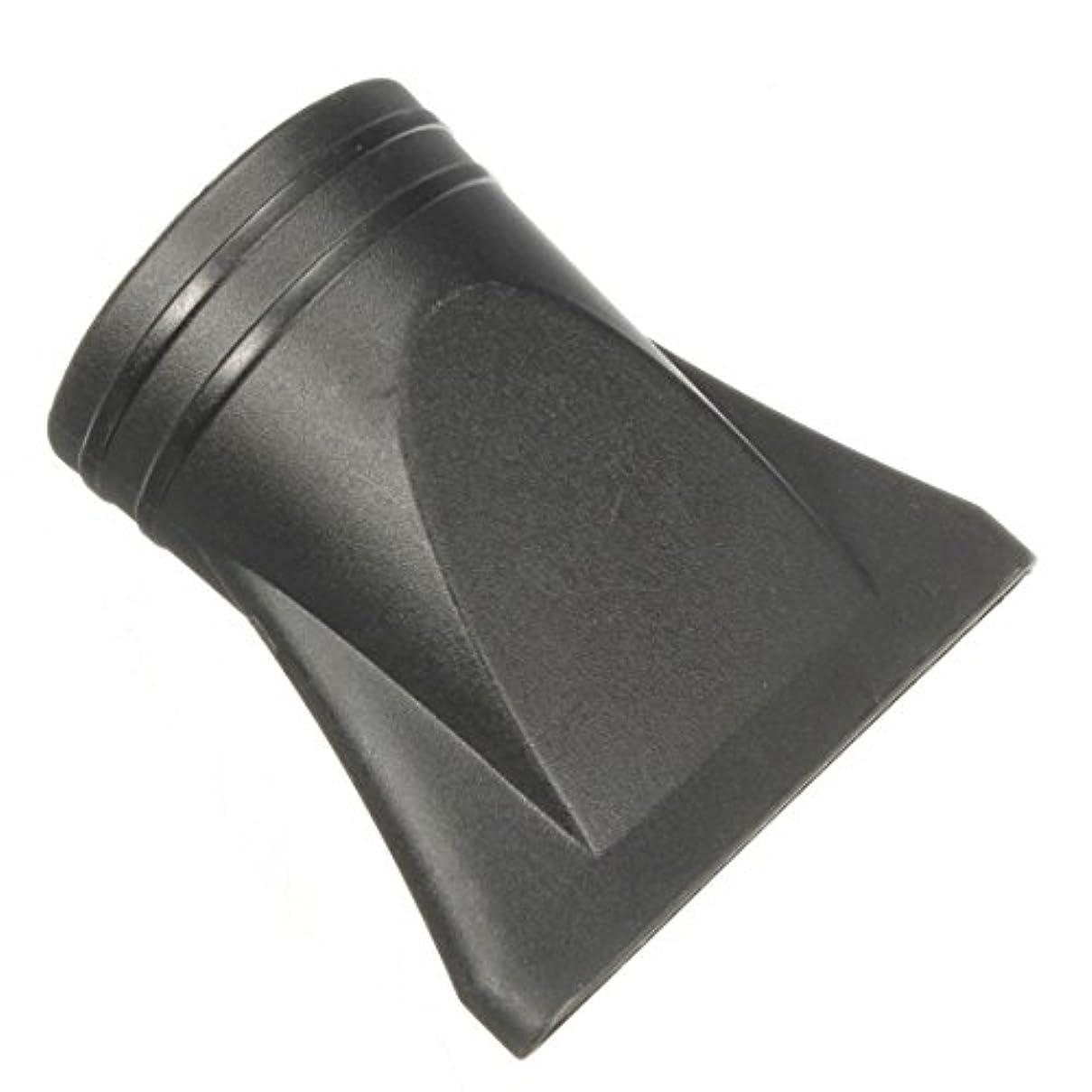 狂気不規則な食器棚Jicorzo - 1PCSプラスチックサロン交換フェラフラットヘアドライヤー乾燥コンセントレータブラックノズルスタイリングツールのフードカバーワイド狭いサイズ[ワイド]