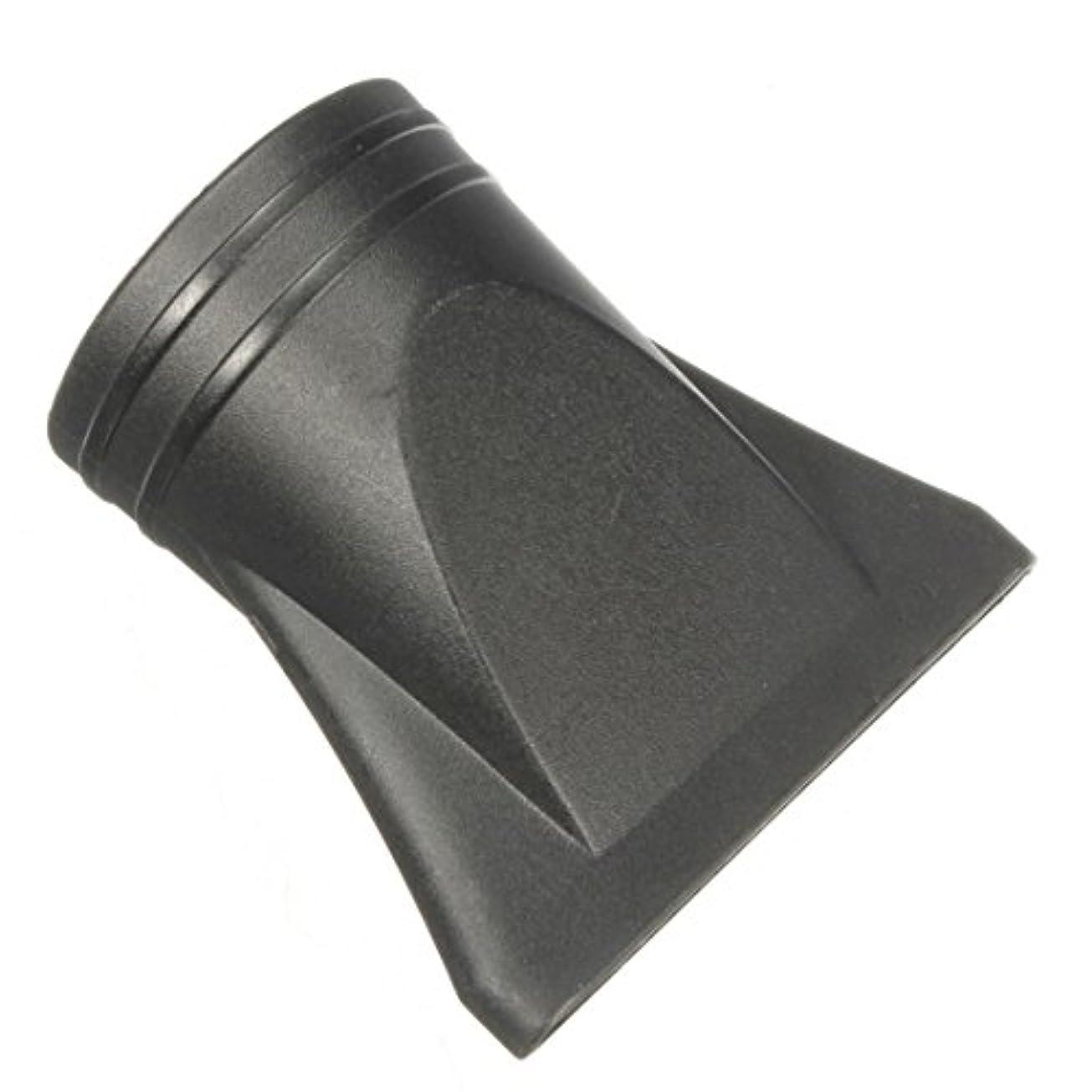 後退する酔ったシャットJicorzo - 1PCSプラスチックサロン交換フェラフラットヘアドライヤー乾燥コンセントレータブラックノズルスタイリングツールのフードカバーワイド狭いサイズ[ワイド]