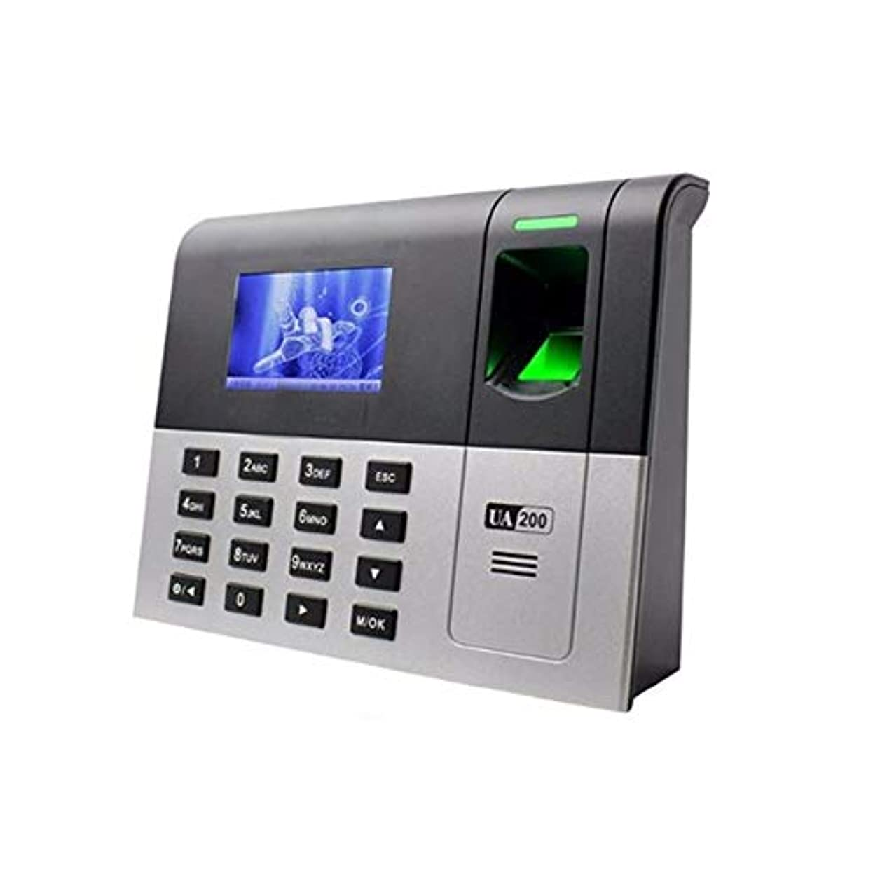 オーバーラン実験室マチュピチュ指紋認識機 MF ICカードリーダーシステムとクロックシステムバイオメトリック指紋出席TCP/IP通信