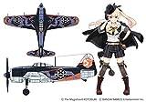 ハセガワ 荒野のコトブキ飛行隊 大空のテイクオフガールズ 局地戦闘機 紫電 フィオ機仕様 1/48スケール プラモデル SP433