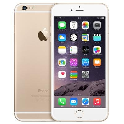 Apple au iPhone6 Plus A1524 (MGAK2J/A) 64GB ゴールド