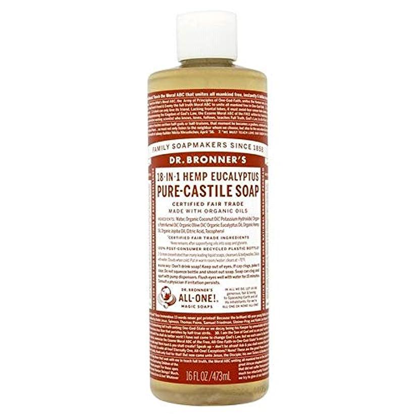 株式会社彼らのものチーフ[Dr Bronner] Dr。ブロナーズ有機ユーカリの純粋な-カスティーリャ液体石鹸473ミリリットル - Dr. Bronner's Organic Eucalyptus Pure-Castille Liquid Soap...