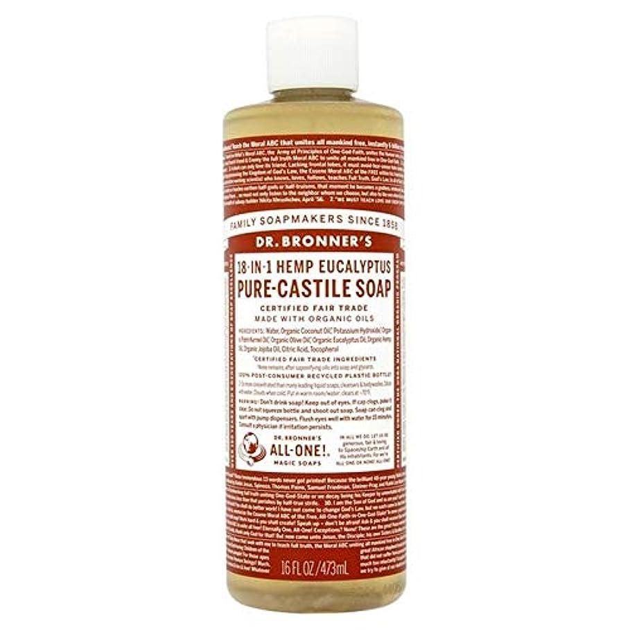 オアシスベンチアピール[Dr Bronner] Dr。ブロナーズ有機ユーカリの純粋な-カスティーリャ液体石鹸473ミリリットル - Dr. Bronner's Organic Eucalyptus Pure-Castille Liquid Soap...