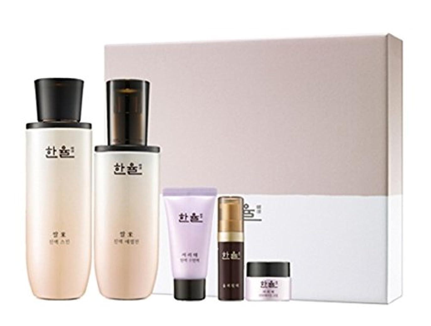 アスペクト回復悲観主義者(ハンユル) HANYUL 韓律 ライス(米) 津液スキン 150ml&エマルジョン125ml 2点セット Rice Essential Skin Softner&Emulsion 海外直送品