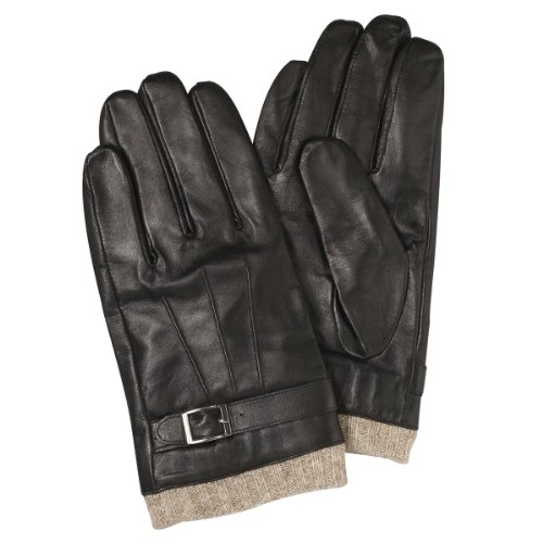 (フランコ コレツィオーニ)Franco Collezioni FC メンズ羊革手袋 SMA057 40688 40688  ブラック FREE