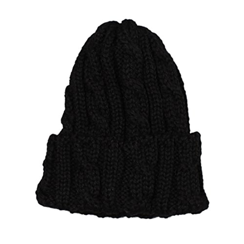 (ハイランド2000) HIGHLAND 2000 CABLE BOB CAP - BRITISH WOOL/BLACK ONESIZE