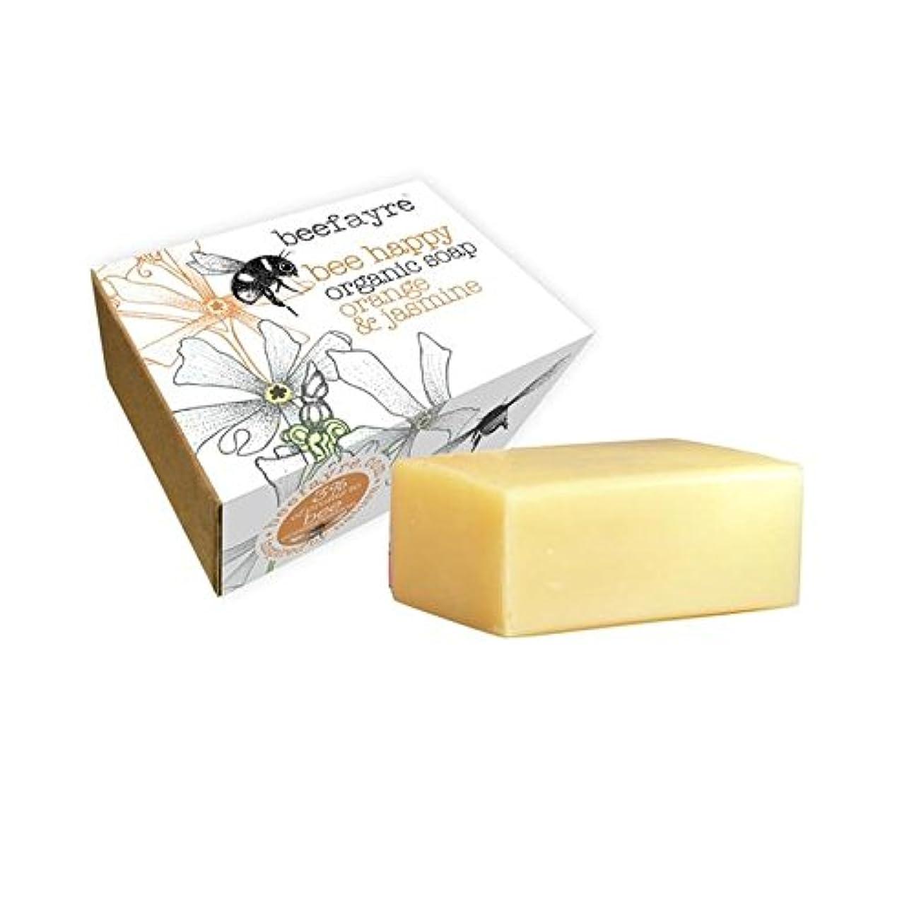 泣くではごきげんよう主に[Beefayre] 有機オレンジ&ジャスミン石鹸Beefayre - Beefayre Organic Orange & Jasmine Soap [並行輸入品]