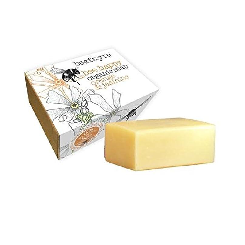 リードミリメーター経歴[Beefayre] 有機オレンジ&ジャスミン石鹸Beefayre - Beefayre Organic Orange & Jasmine Soap [並行輸入品]