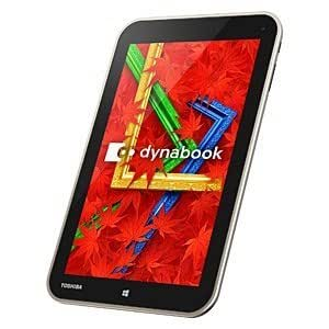 東芝 dynabook Tab VT484/26K (Win8.1 32Bit/8.0inch/Atom Z3740/2G/64GB/Microsoft Office H&B 2013)