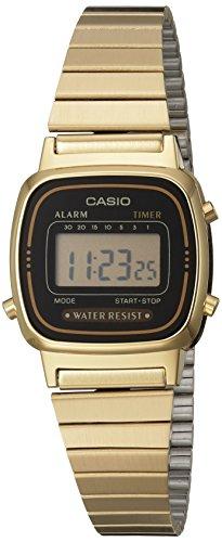 [カシオスタンダード]CASIO STANDARD 腕時計 CASIO STANDARD デジタル LA-670WGA-1 レディース 【逆輸入品】